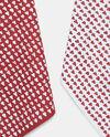 Set due strofinacci cotone a cuori