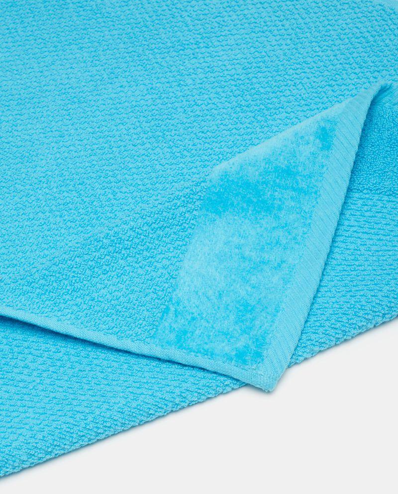 Asciugamano viso puro cotone tinta unita