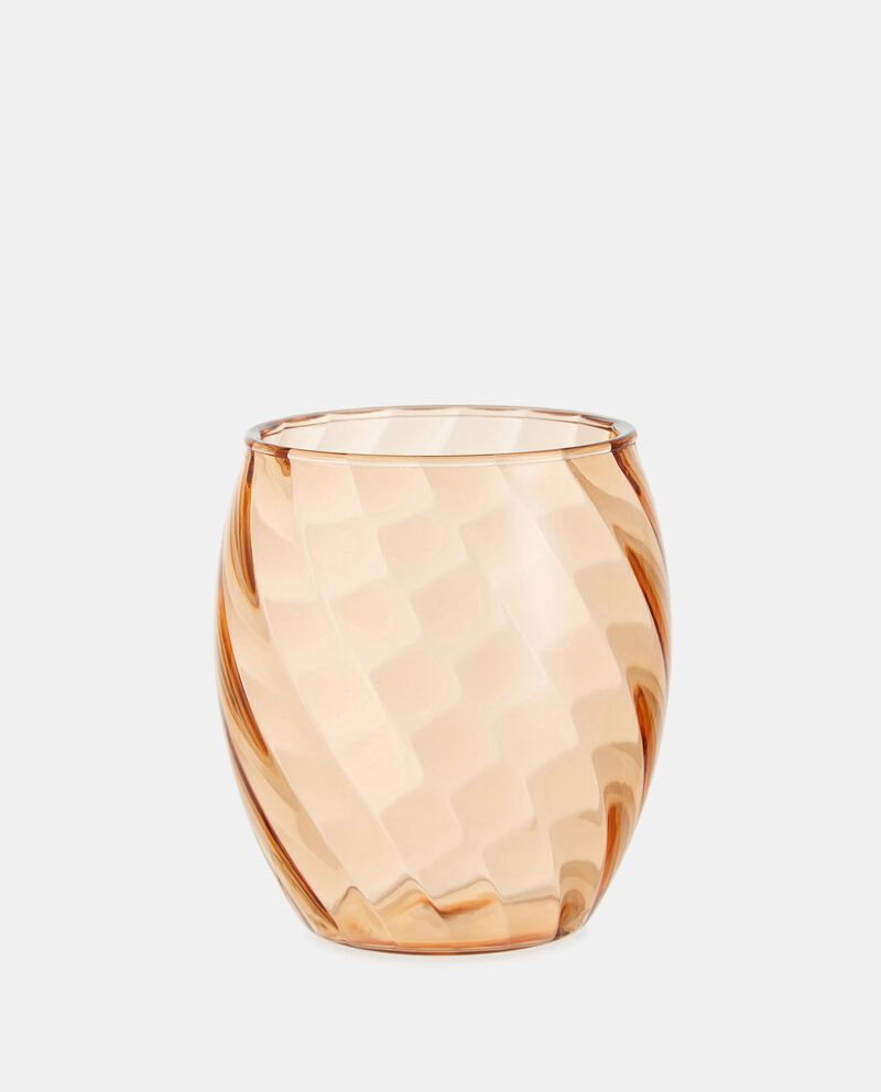 Bicchiere acqua colorato