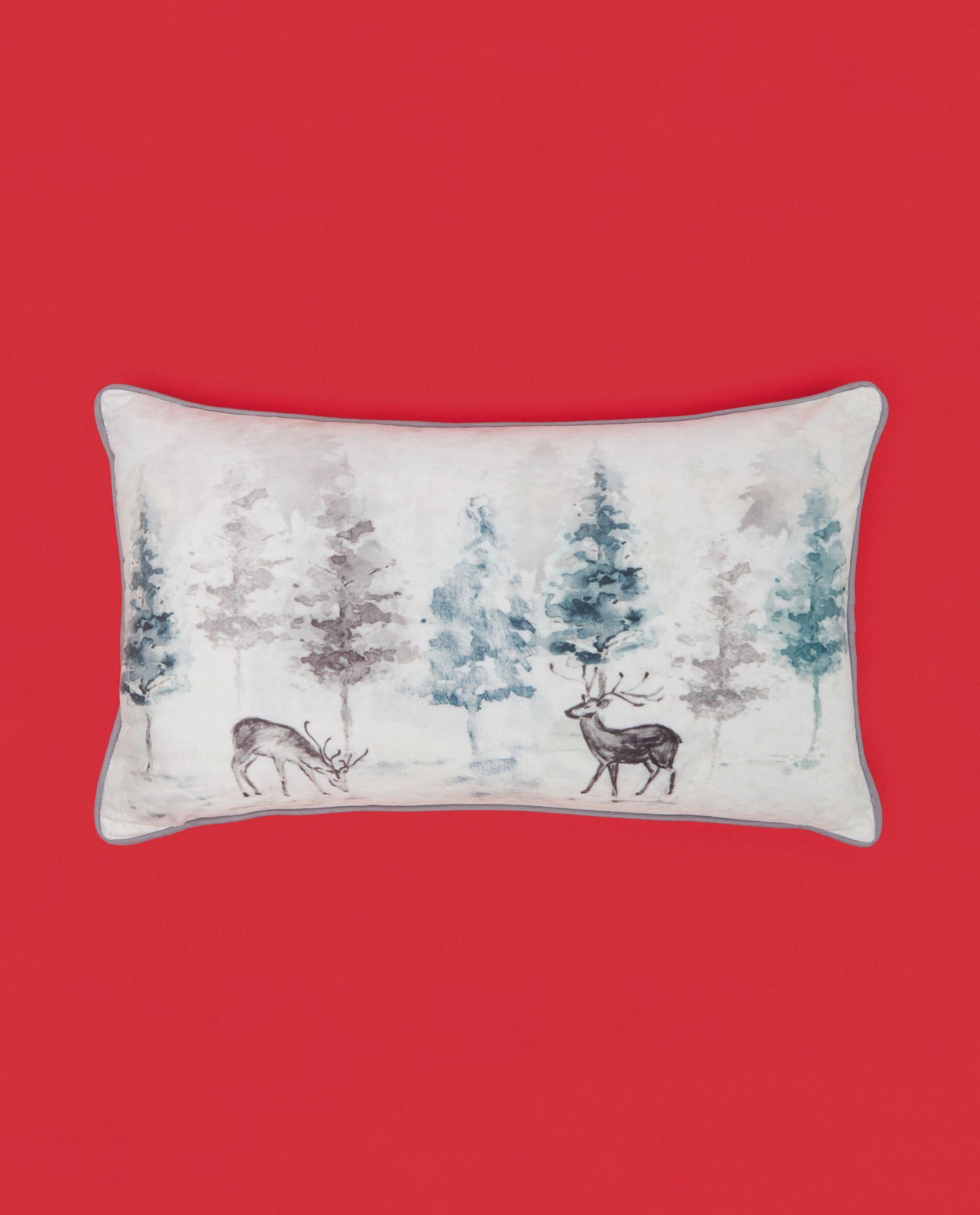 Cuscino con stampa renna