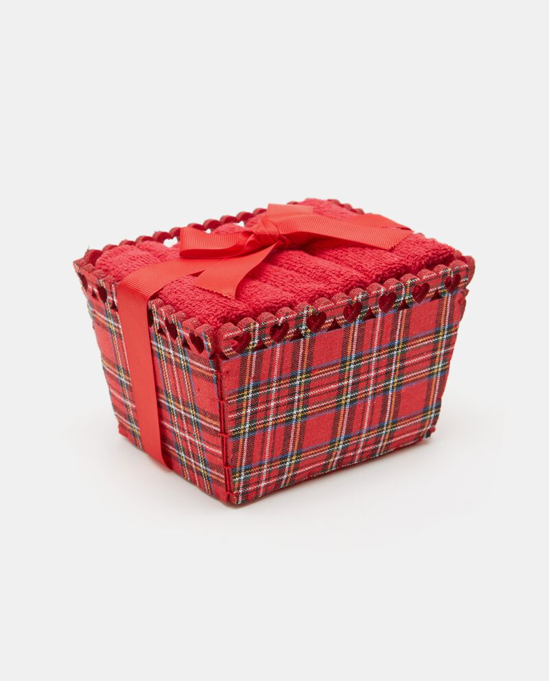 Set natalizio asciugamani