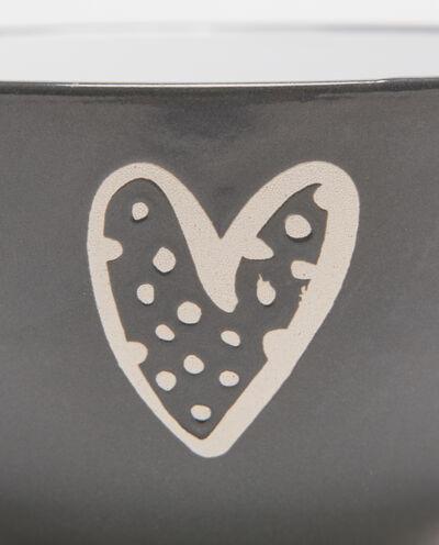 Ciotola cereali in ceramica cuore