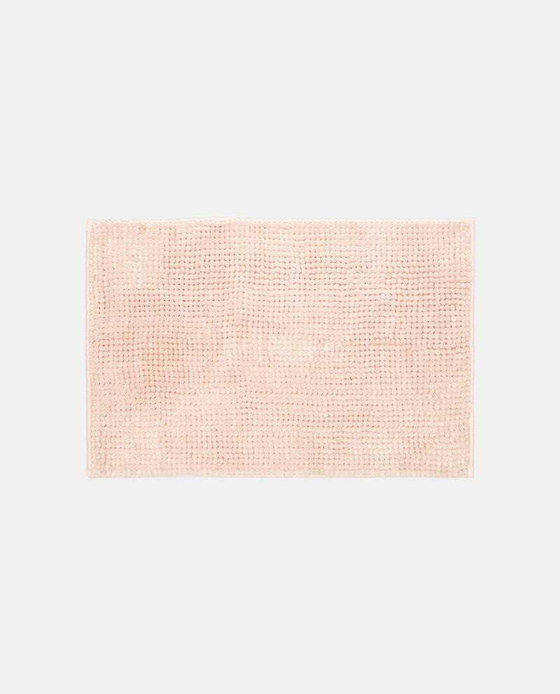 Tappeto bagno microfibra tinta unita