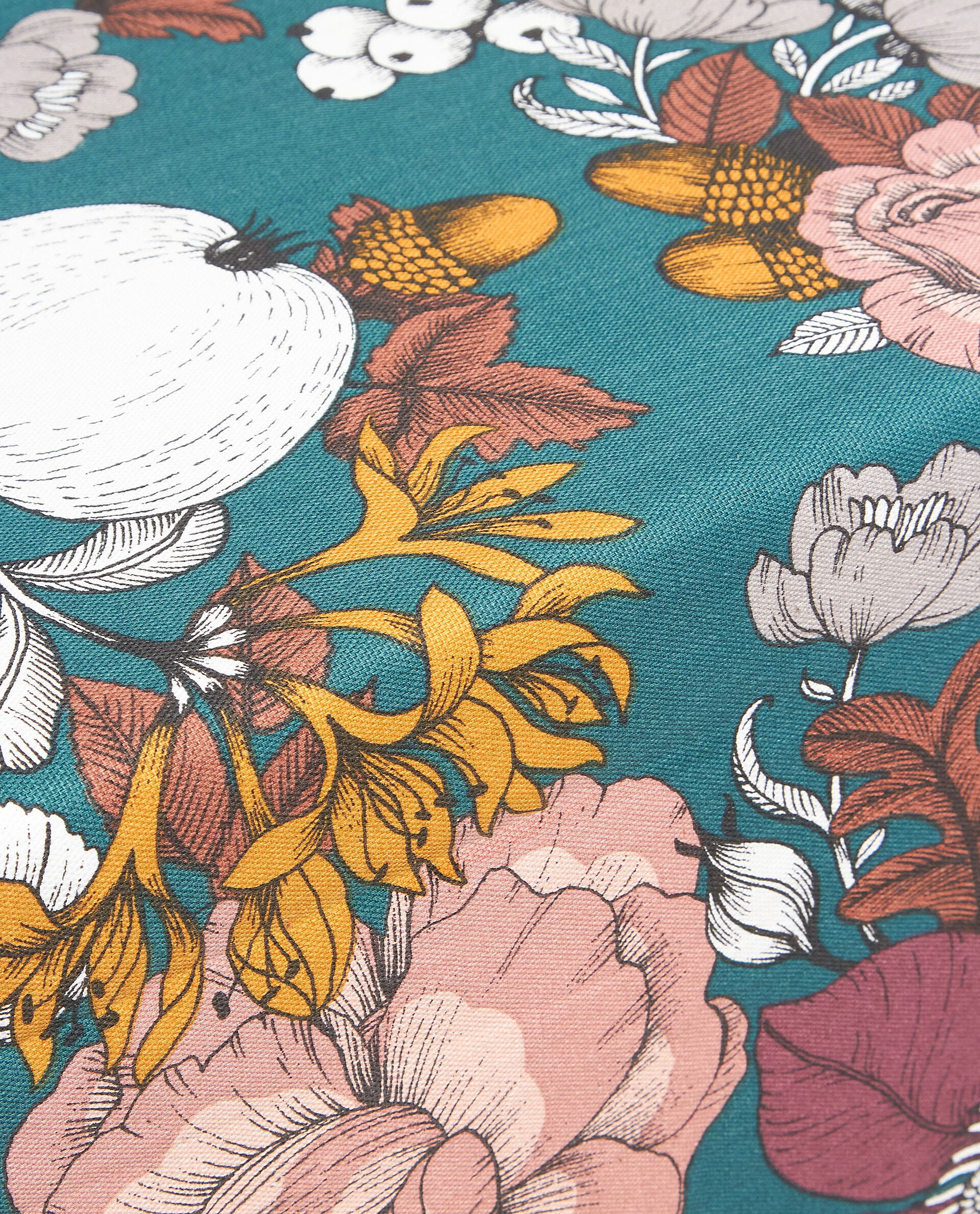 Runner a fantasia floreale in puro cotone