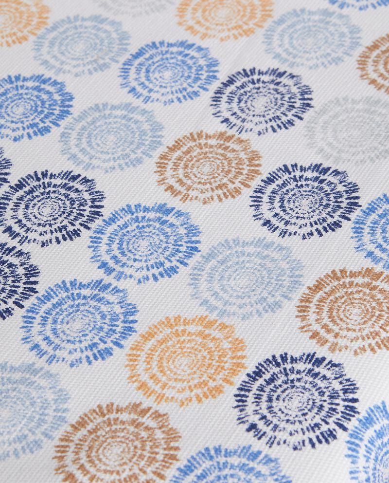 Runner con stampa fiori in puro cotone single tile 1