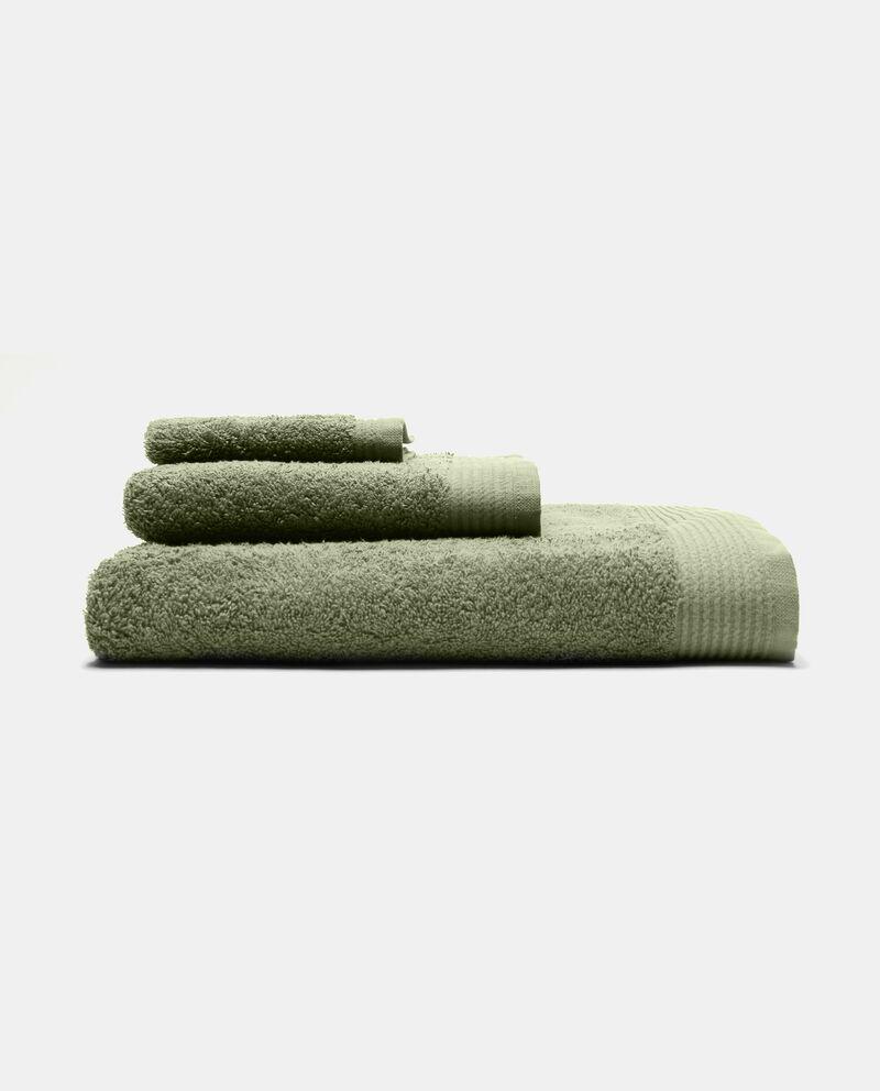 Asciugamano viso con bordatura