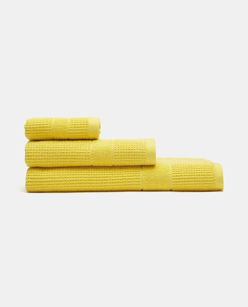 Asciugamano ospite waffle in puro cotone cover