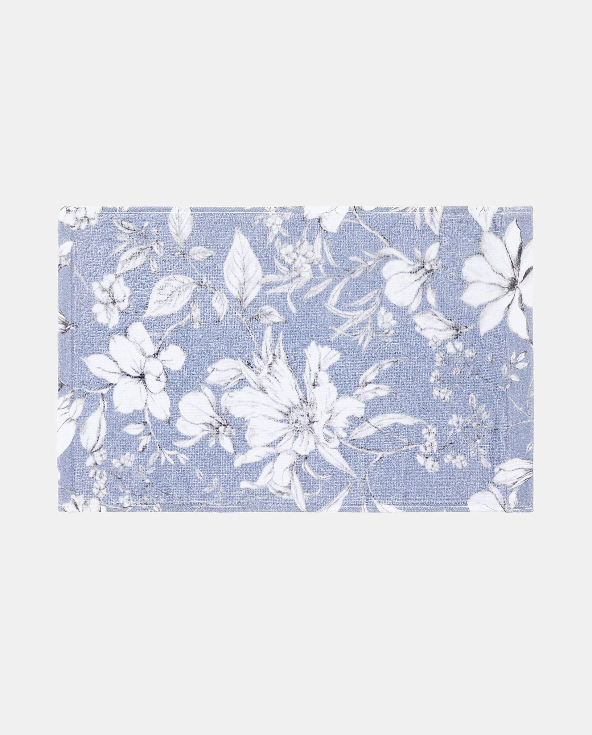 Asciugamano ospite con fantasia floreale puro cotone