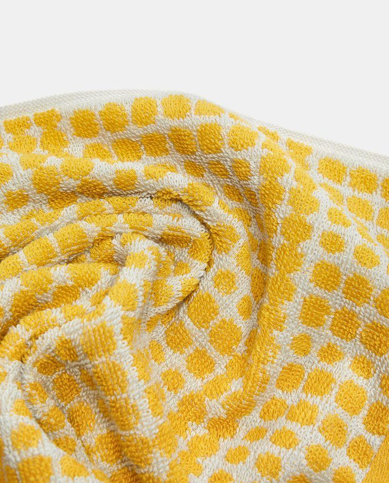 Asciugamano ospite in puro cotone con fantasia multidots single tile 1