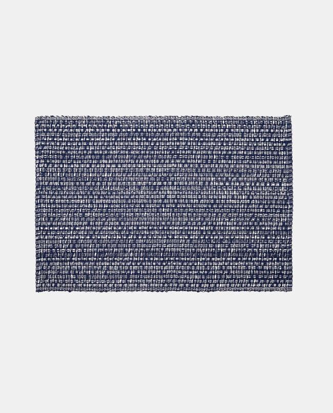Tovaglietta cotone bicolore intrecciato