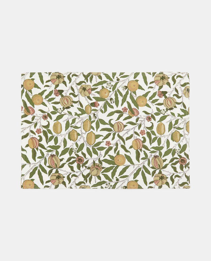 Tovaglietta con stampa frutta in puro cotone cover