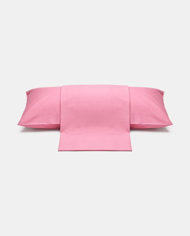 Parure lenzuolo tinta unita di puro cotone carousel 0