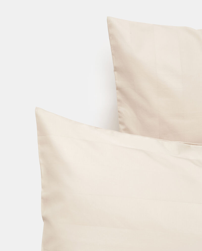 Parure letto raso cotone rigato