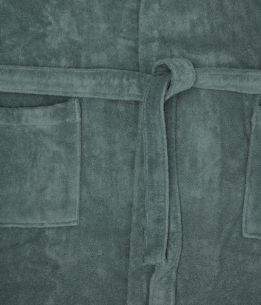 Accappatoio puro cotone in tinta unita
