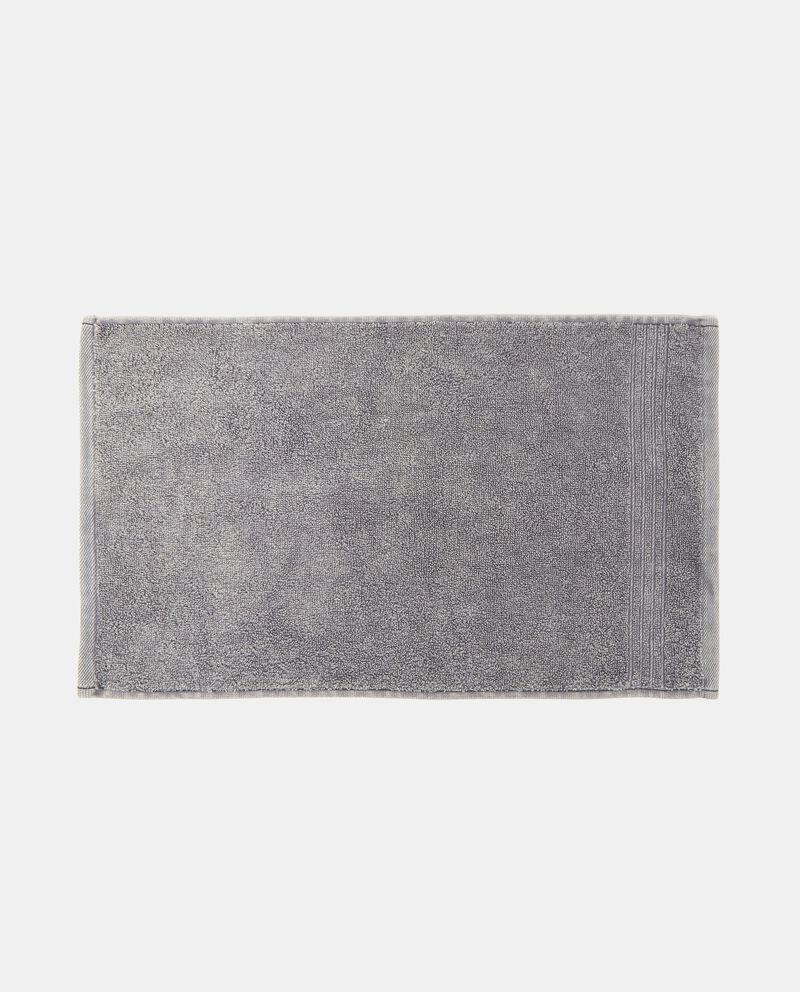 Asciugamano in cotone stone washed