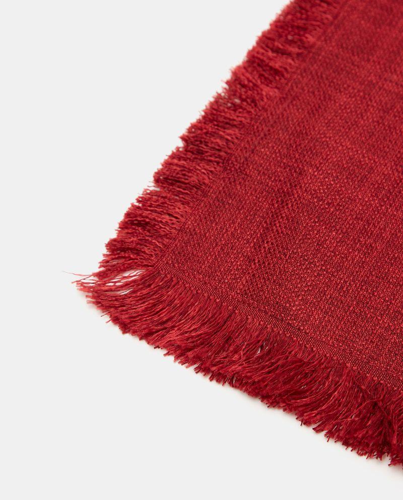 Tovaglietta effetto lino sfrangiata single tile 1