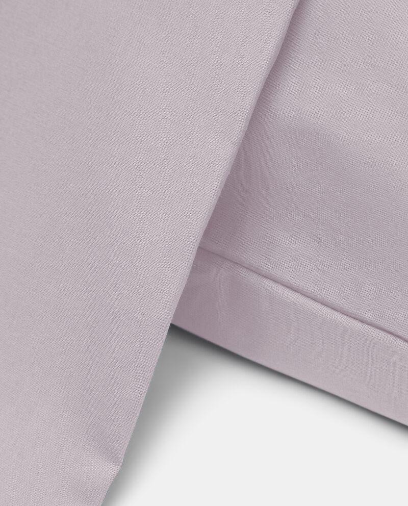 Copripiumino matrimoniale in puro cotone in tinta unita single tile 1