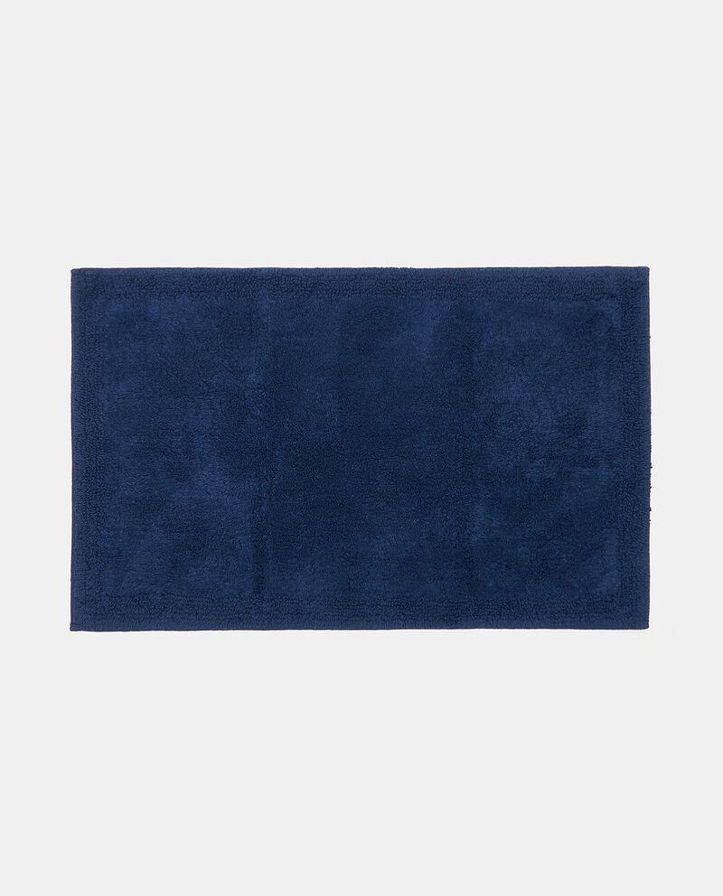Tappeto bagno in puro cotone tinta unita cover