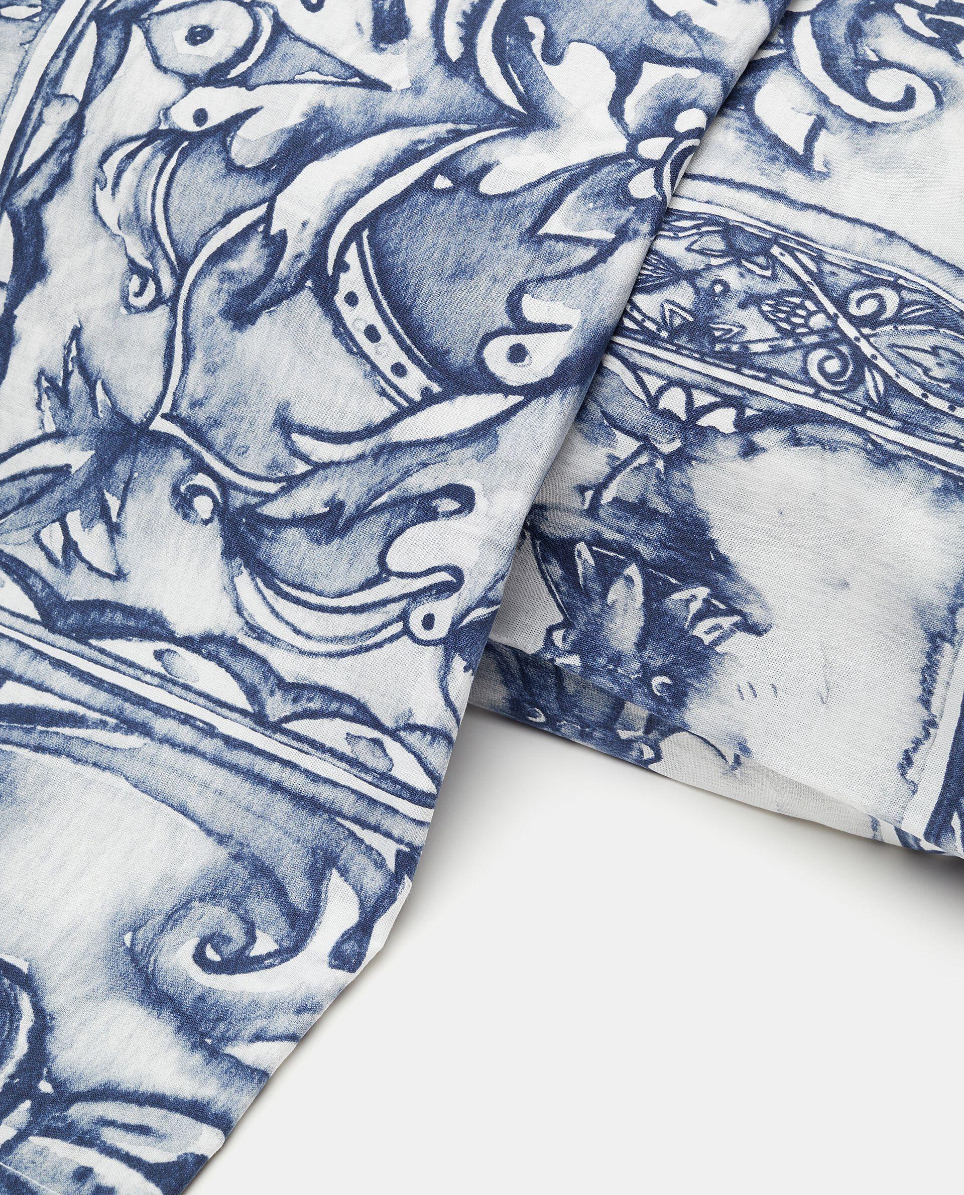 Lenzuolo con fantasia pottery in puro cotone