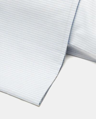 Copripiumino singolo cotone micro righe