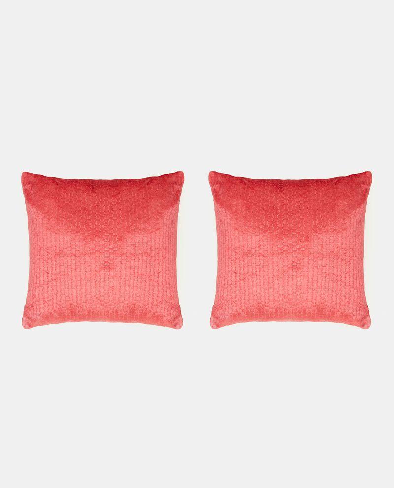 Set cuscini in tinta unita