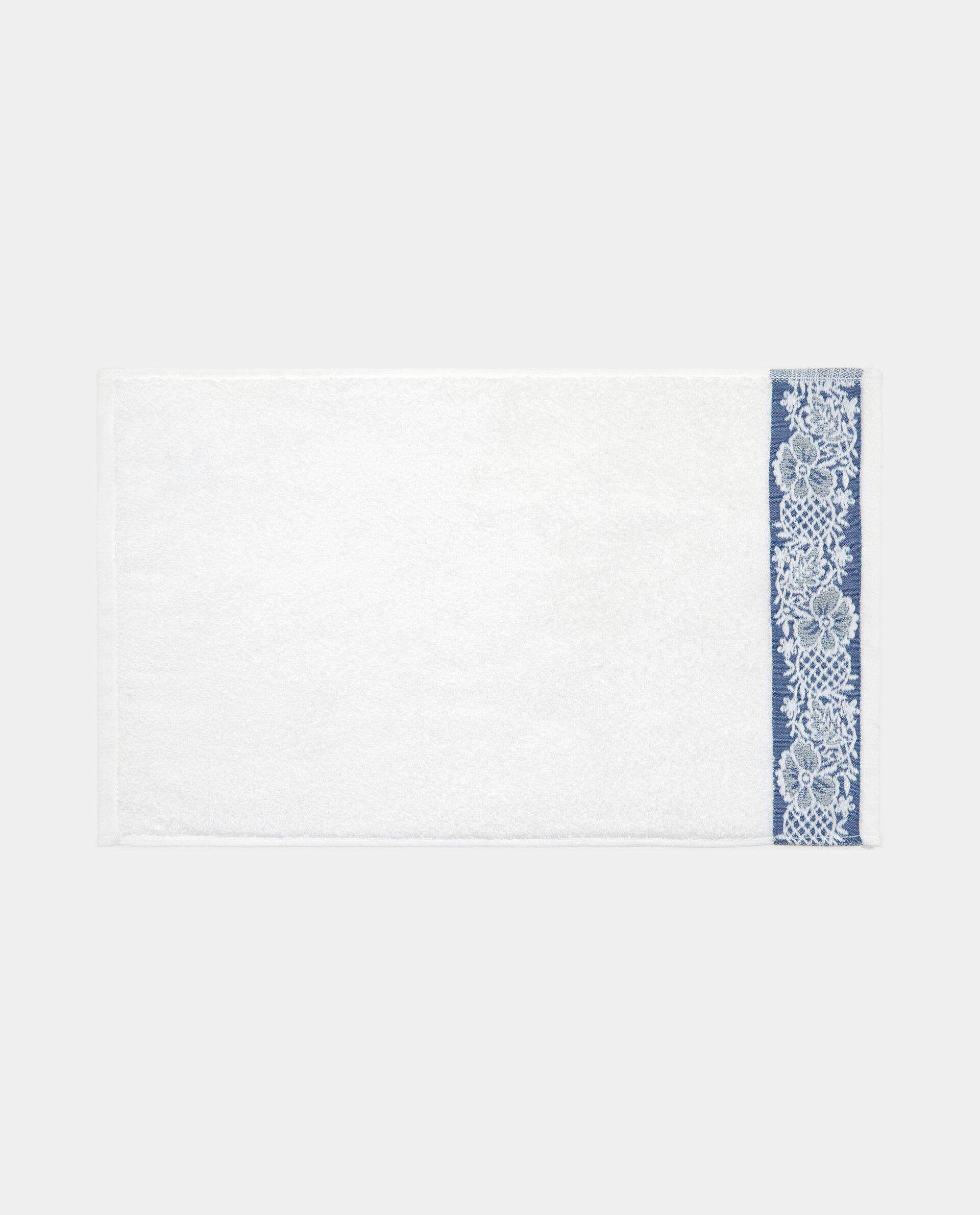 Asciugamano cotone jacquard floreale