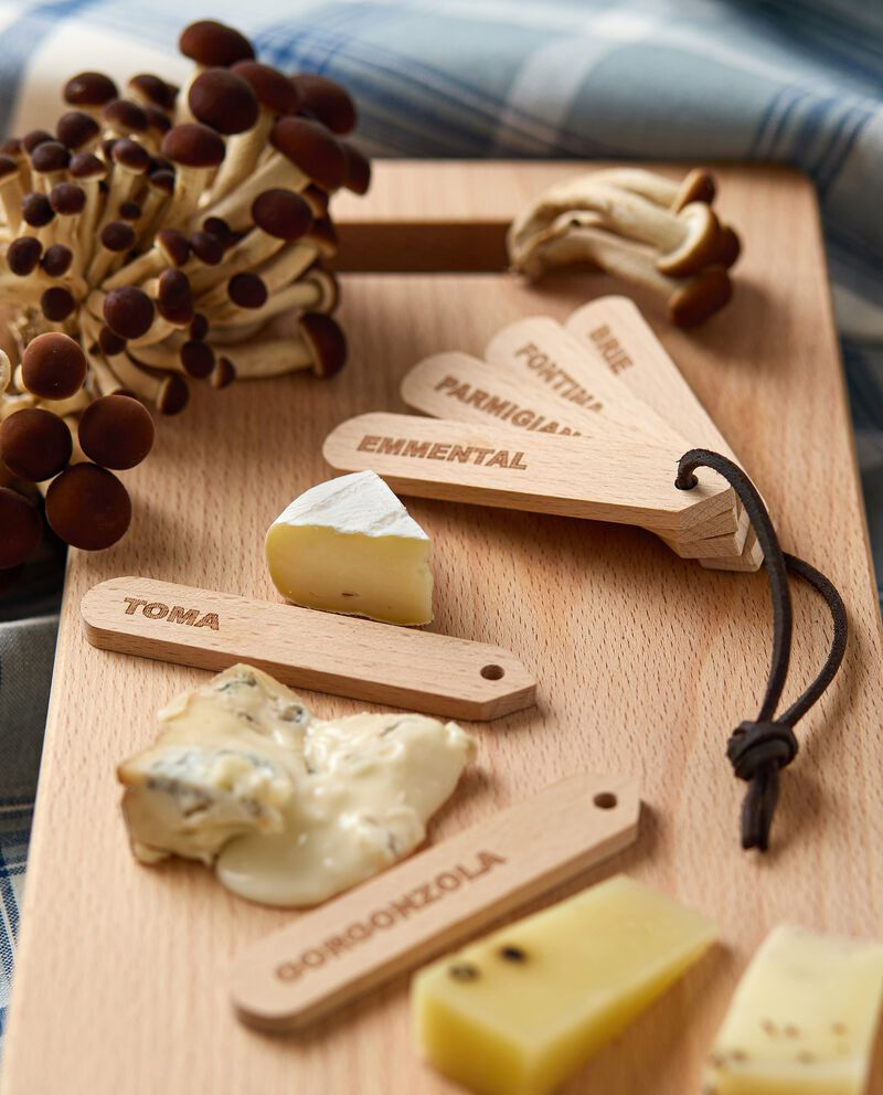 Set di pick formaggio da aperitivo in legno cover