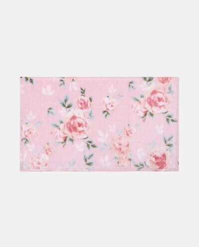 Asciugamano ospite cotone con fantasia floreale