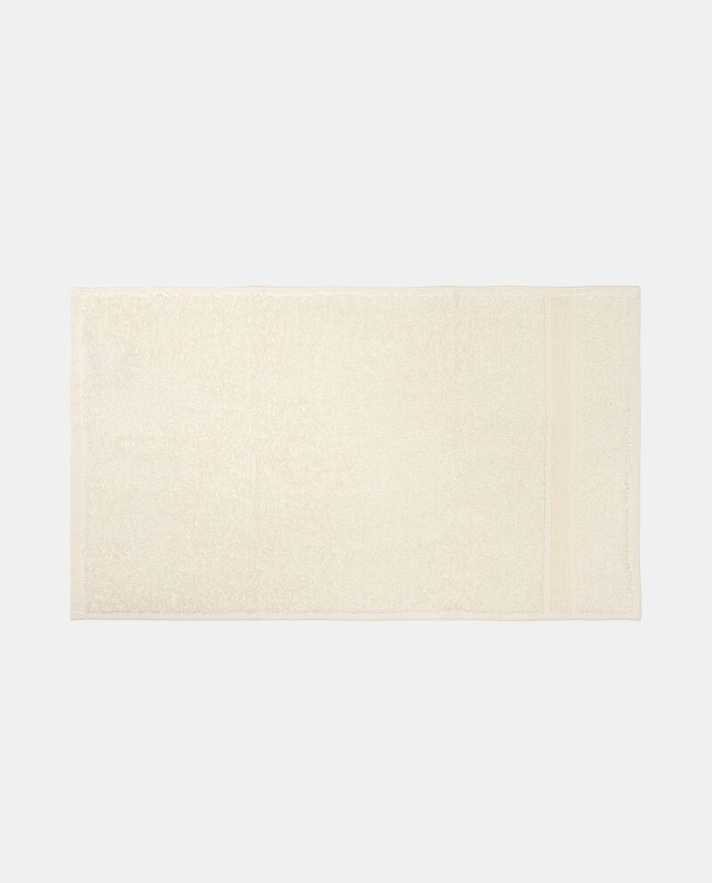 Asciugamano in puro cotone tinta unita