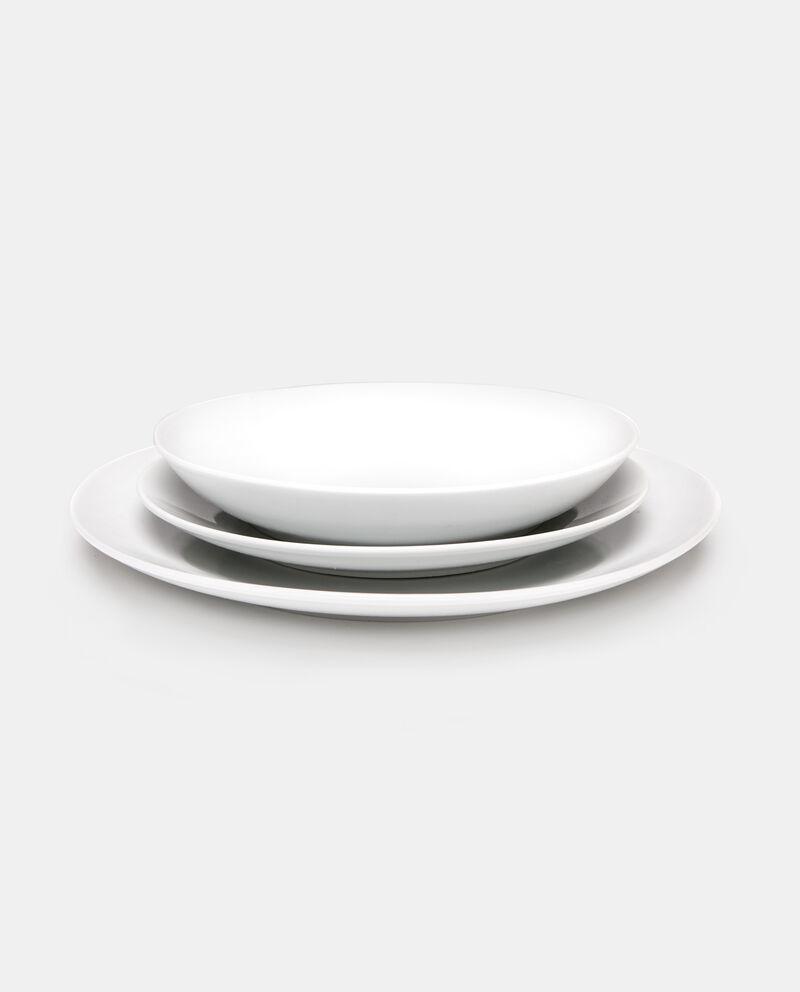 Set 18 piatti in porcellana cover