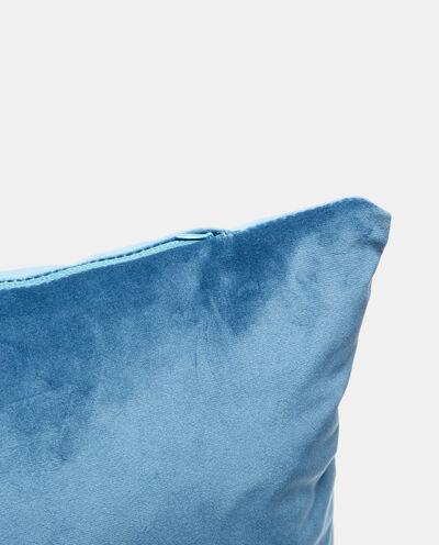Cuscino in velluto con zip