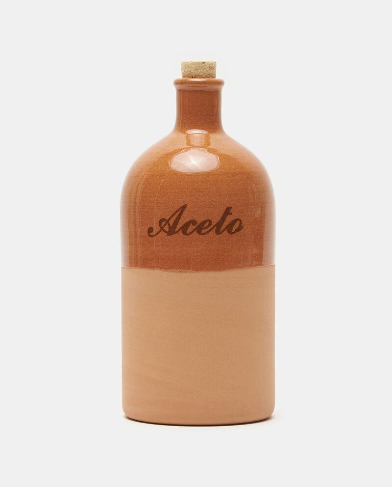 Bottiglia per aceto in terracotta