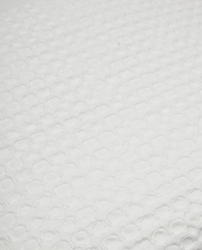 Copriletto waffle in puro cotone