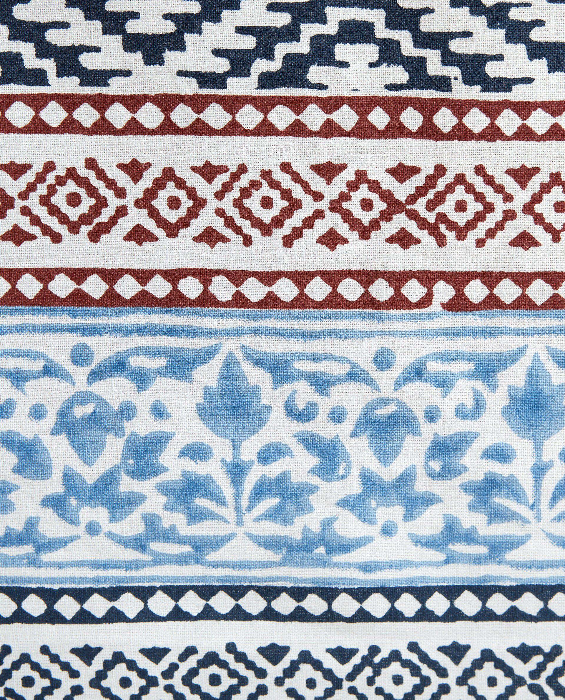 Tovaglia in cotone fantasia etnica