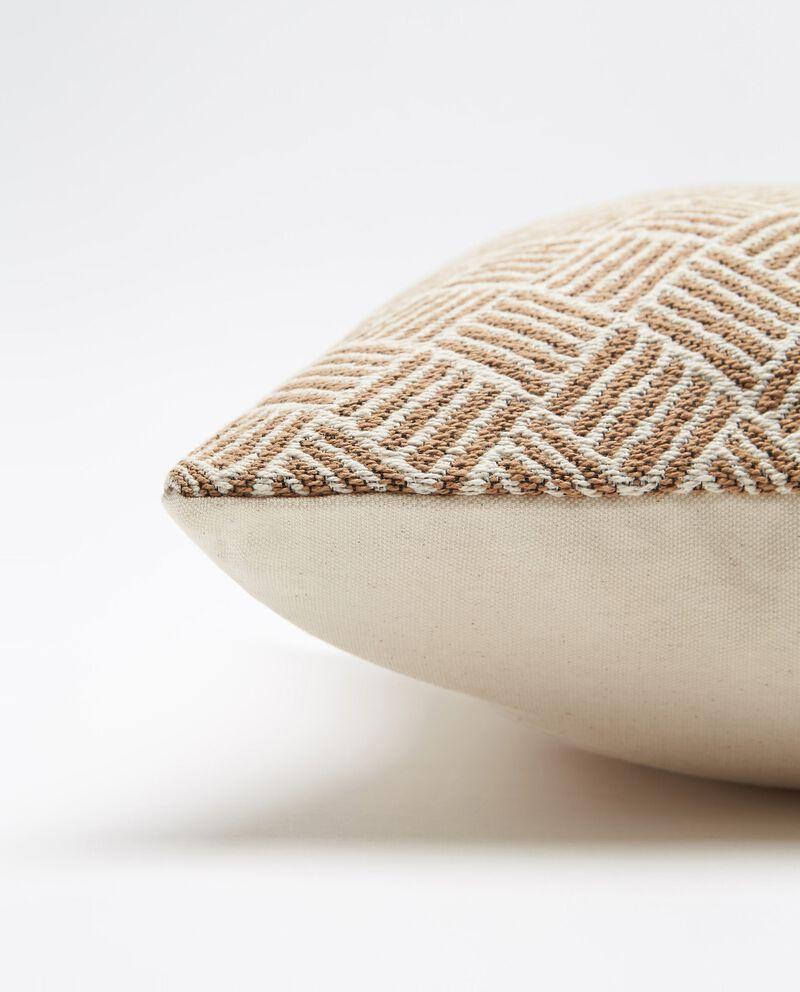 Cuscino con stampa rombi single tile 1