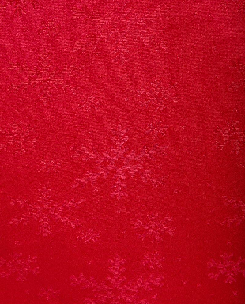 Tovaglia con motivo a quadri natalizio