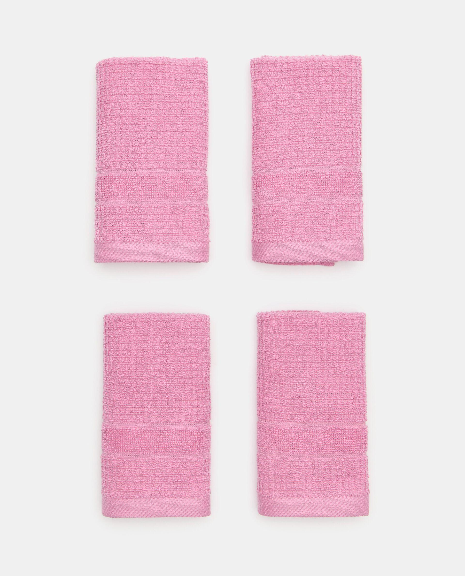 Asciugamano ospite waffle in puro cotone