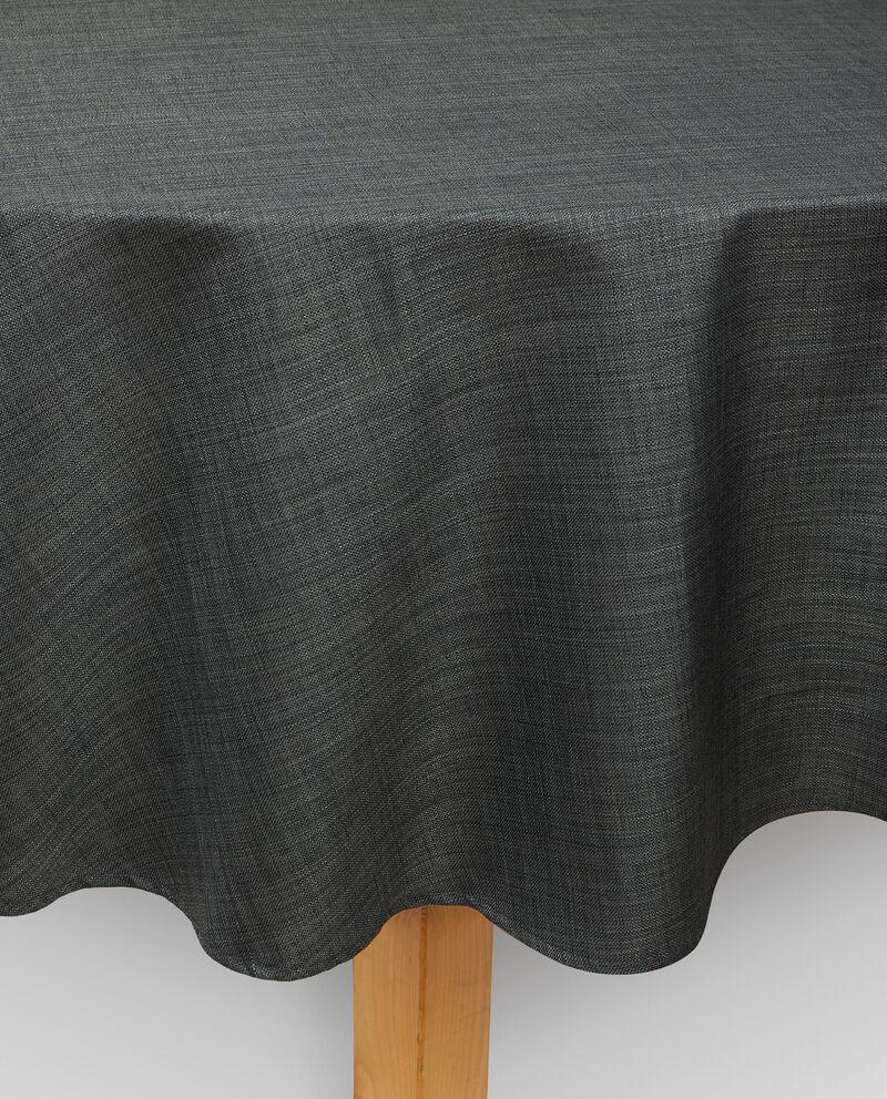 Tovaglia per tavolo rotondo effetto lino cover
