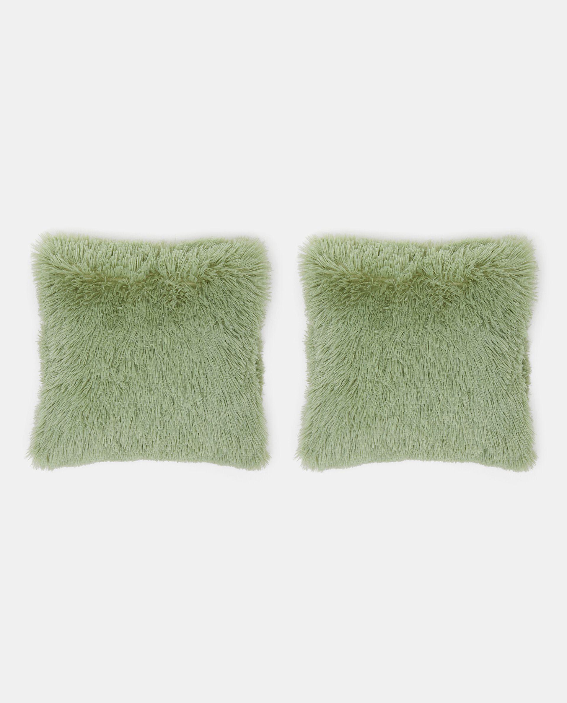 Set cuscini in pelo