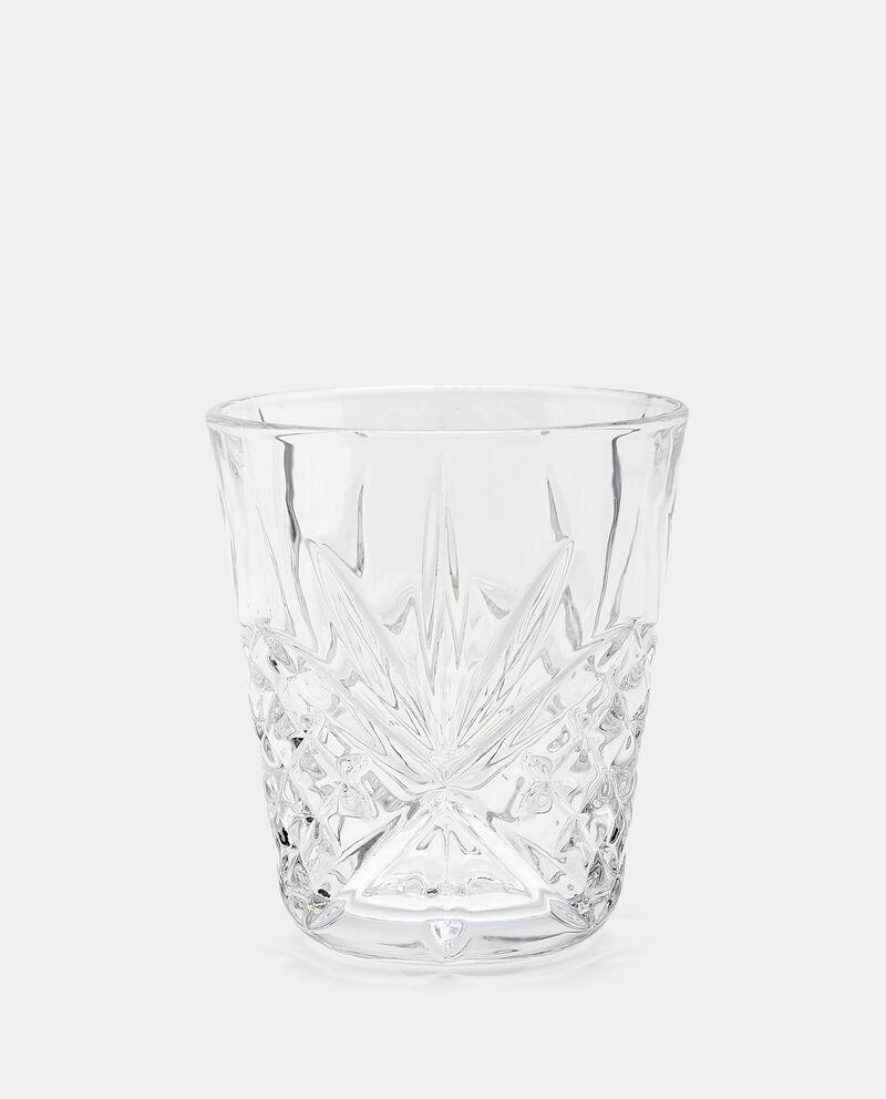 Bicchiere con rilievi in vetro cover
