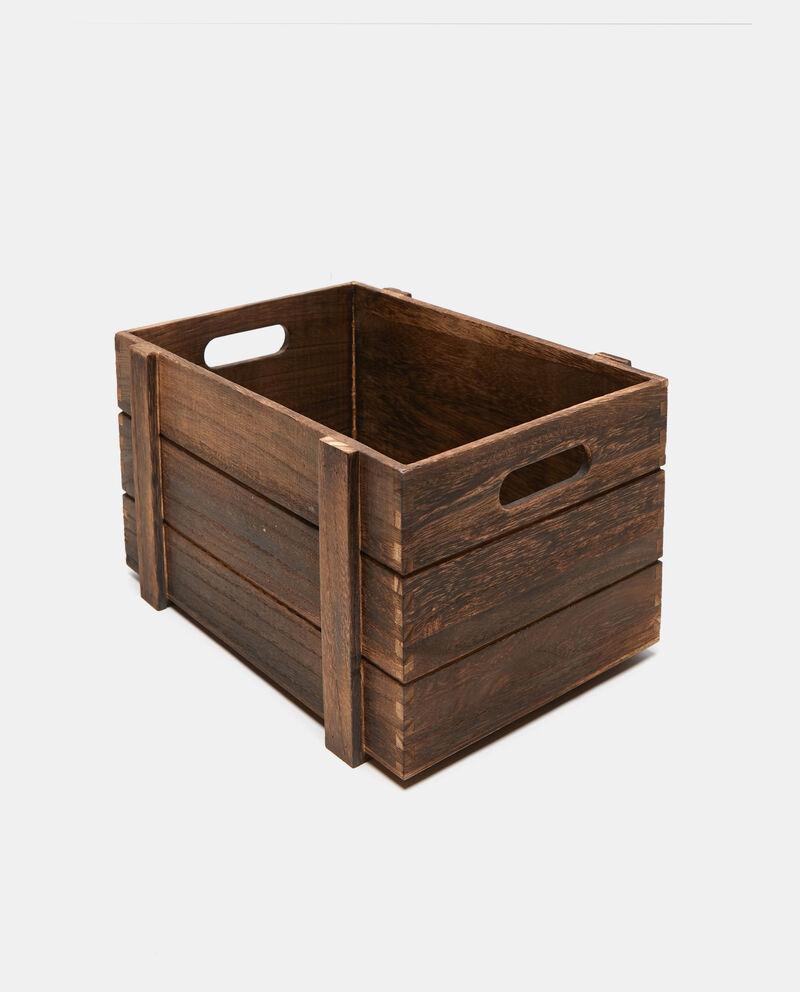 Cassetta rettangolare in legno