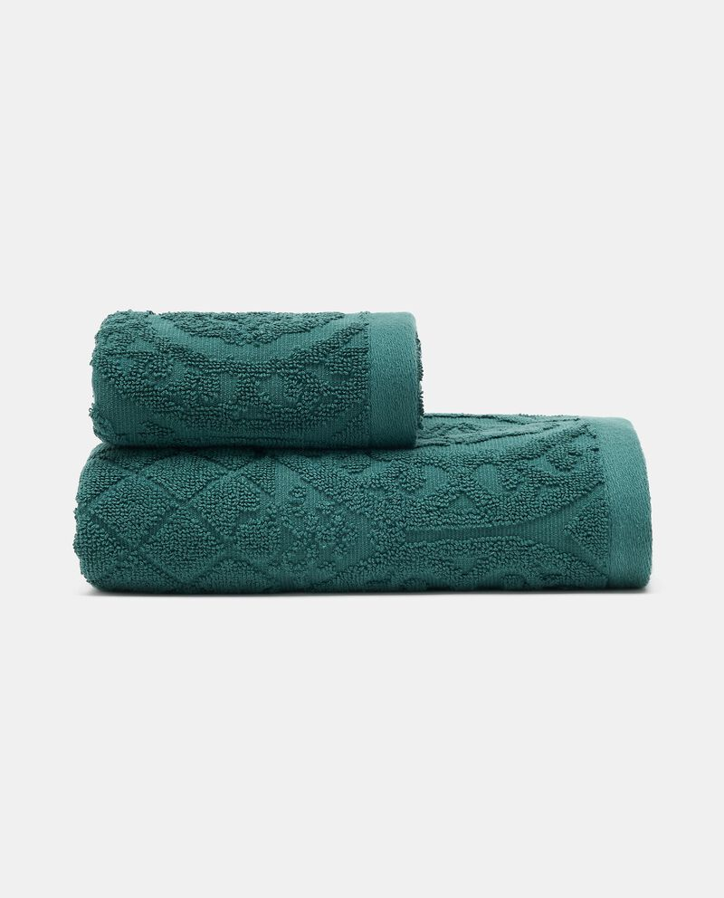 Asciugamano barocco in puro cotone cover