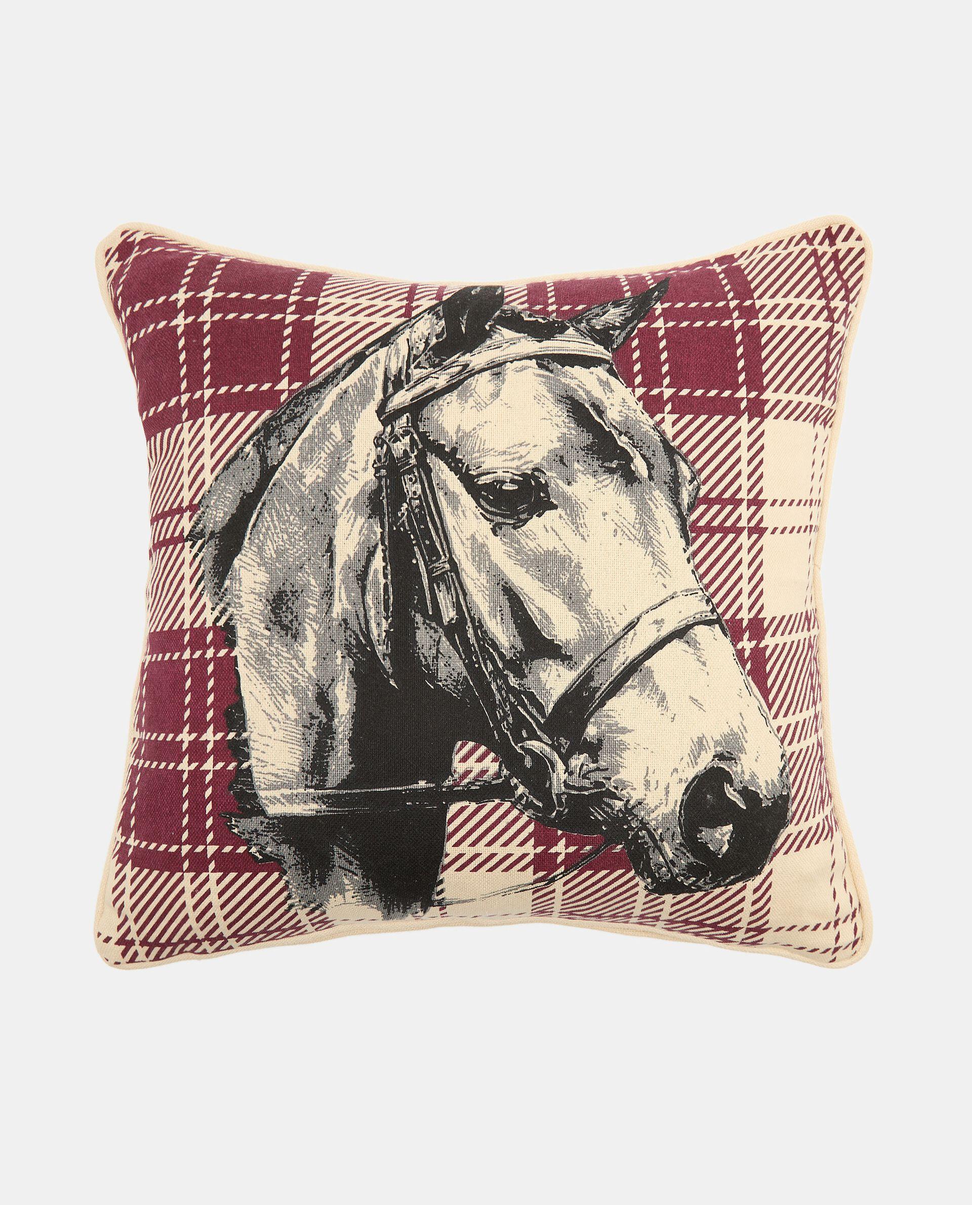 Cuscino con stampa cavallo